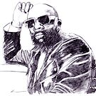 Isaac Hayes by Keith Henry Brown