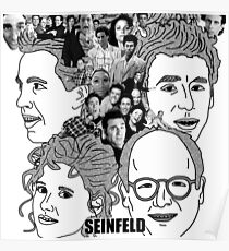 Seinfeld Revolver Poster