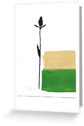 Little Black Flower by kalikristine