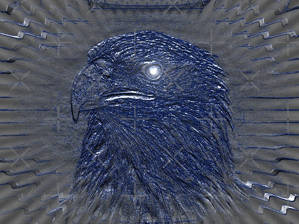 Blue Eagle by Gail Bridger