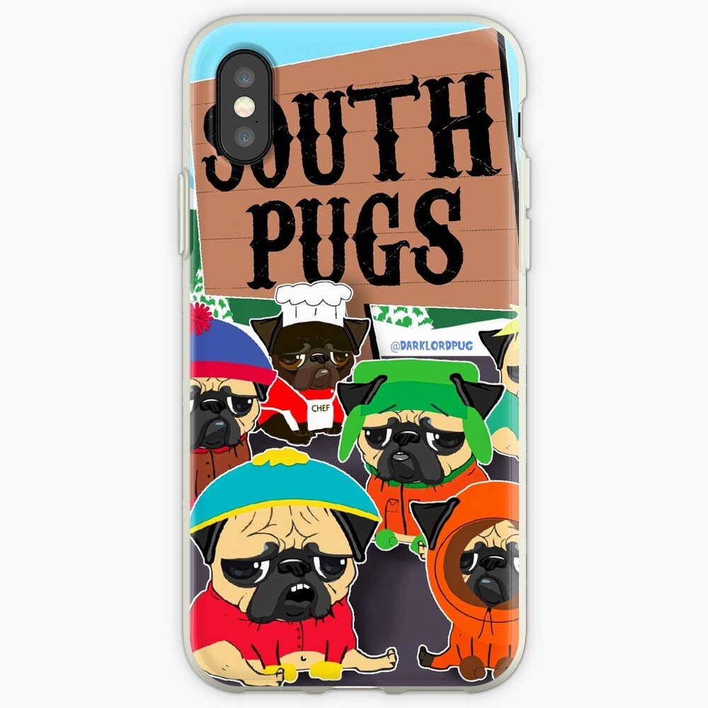 SÜD-PUGS iPhone-Hülle & Cover