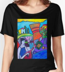 At The Villa Women's Relaxed Fit T-Shirt