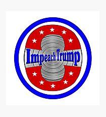 Impeach Trump Photographic Print