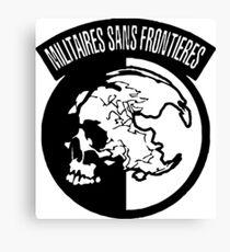 militaires sans frontieres Canvas Print