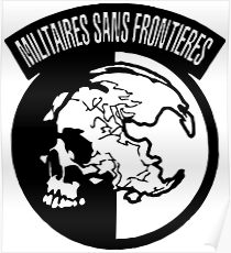 militaires sans frontieres Poster