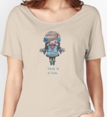 Love is a Hug Tshirt Women's Relaxed Fit T-Shirt