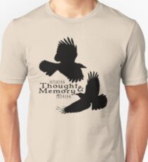 Thought & Memory Unisex T-Shirt