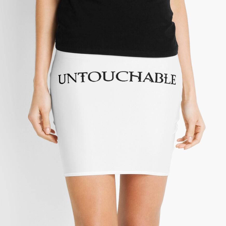 ¡Intocable! Minifalda