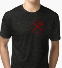 Huber's Zombie Eradication Force Tri-blend T-Shirt