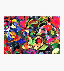 Colorful Mashup Abstract Art Photographic Print