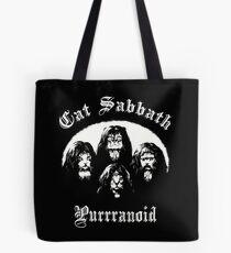 CAT SABBATH Tote Bag