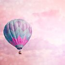 Pink & Purple Balloon by Bethany Helzer