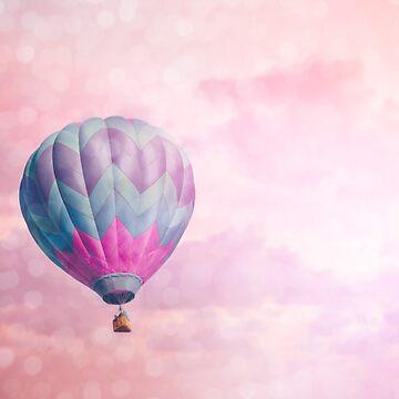 Pink & Purple Balloon by riotjane