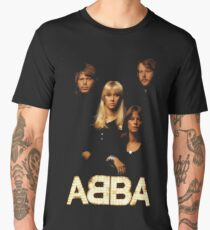 abba pop music group Men's Premium T-Shirt