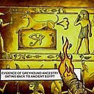 Hounds In Ancient Egypt by Andrew Ledwith