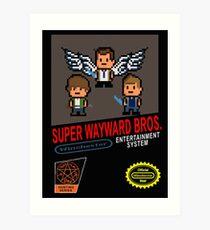 Super Wayward Bros. Art Print