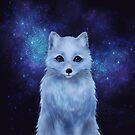 Arctic Fox by ARiAillustr