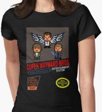 Super Wayward Bros. Women's Fitted T-Shirt