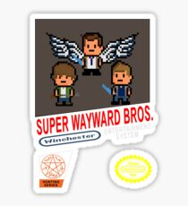 Super Wayward Bros. Sticker