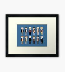 12 Little Doctors  Framed Print