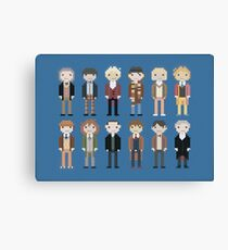 12 Little Doctors  Canvas Print