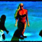 Cocoa Beach, Fl. by Chet  King