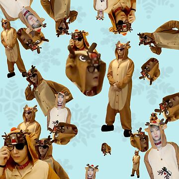Reindeer Leo Christmas meme | VIXX by ichigobunny