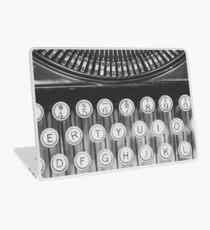 Vintage Typewriter Study Laptop Skin