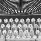 Vintage Typewriter Study by Bethany Helzer