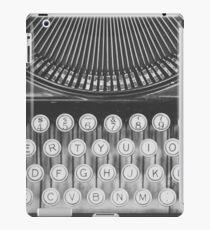 Vintage Typewriter Study iPad Case/Skin