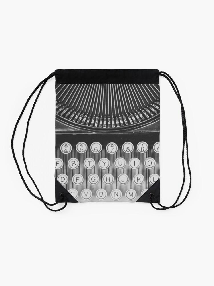Alternative Ansicht von Vintage Schreibmaschinenstudie Turnbeutel