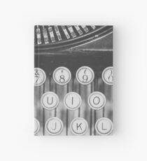 Vintage Typewriter Study Hardcover Journal