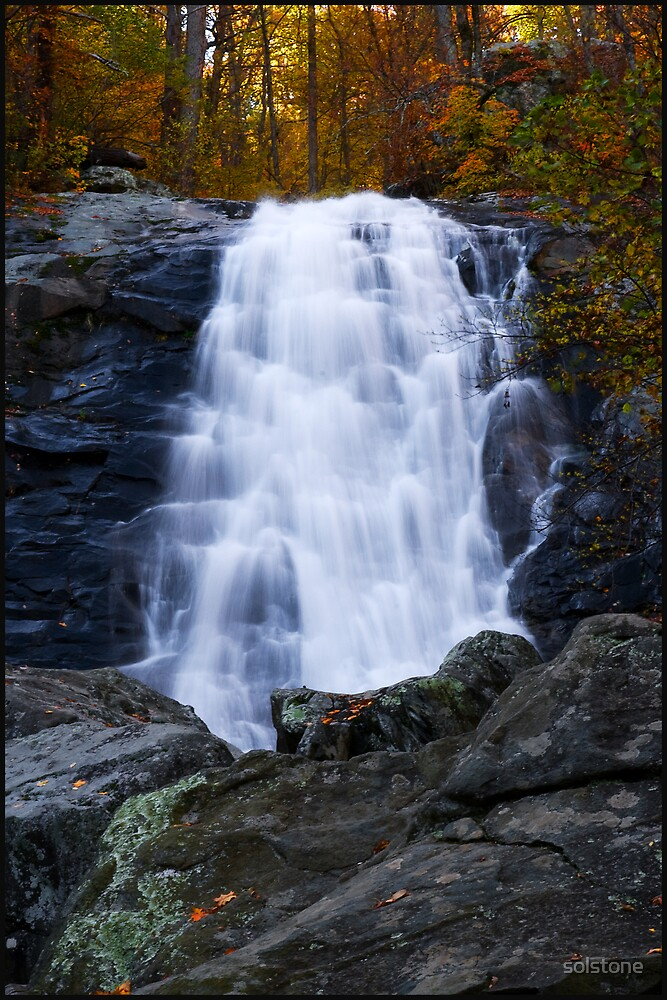 Another Falls along the White Oak Trail. by solstone
