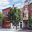Harrisburg PA - N Front Street by Susan Savad