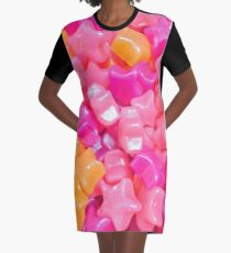 Candy Stars  Graphic T-Shirt Dress