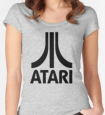 atari video game Women's Fitted Scoop T-Shirt