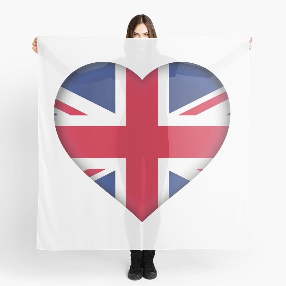 United Kingdom Flag Scarf