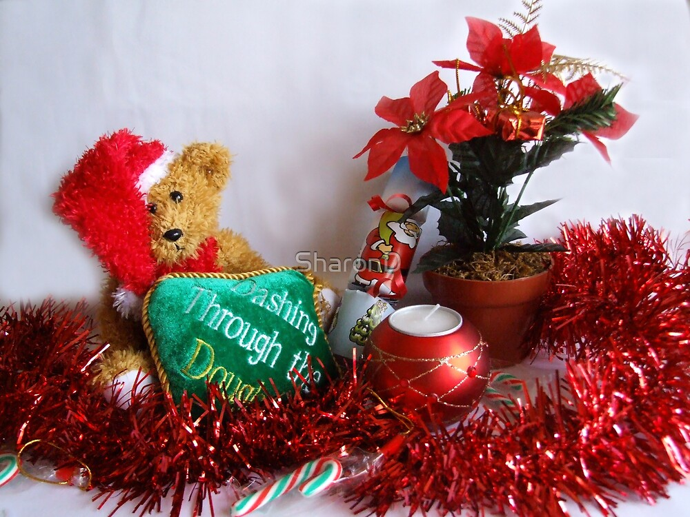 """""""Let's Celebrate Christmas"""" by SharonD"""