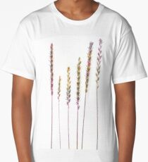 Colorful Grasses  Long T-Shirt