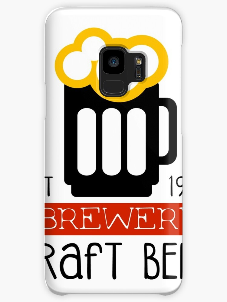 craft brewery logo design template cases skins for samsung galaxy