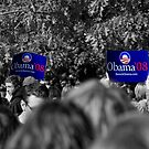 Obama in blue by MarcVDS