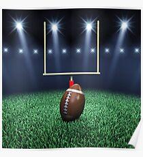 American Football stadium Poster