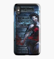 Sexy Vampire Girl  iPhone Case