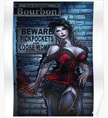 Sexy Vampire Girl  Poster