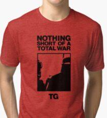 Throbbing Gristle Nothing Short of a Total War Tri-blend T-Shirt