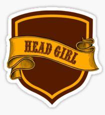 Red Gold Badge 2 Sticker