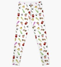 Japanese Food Mania  Leggings