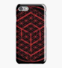 Tesseract & Flower of Life  iPhone Case/Skin