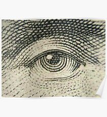 Lincoln's Eye Poster