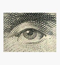 Lincoln's Eye Photographic Print